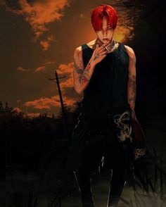 Awesome Fanart #GD #GDragon #KwonJiYong ©画画的金字