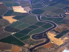 Irrigation Canal Central Valley California - Landscape & Rural ...
