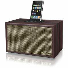 Crosley CR3011A-MA iDeco Speaker Dock for iPod (Brown)