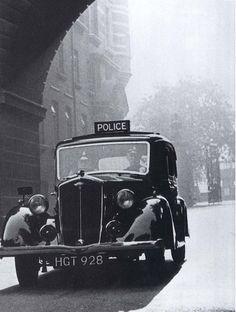Metropolitan Police Wolseley,1069 cc, 'Wasp' 1940'ish, O/S Cannon Row Police Station, (New Scotland Yard) Westminster, London, SW1. UK. by sgterniebilko, via Flickr