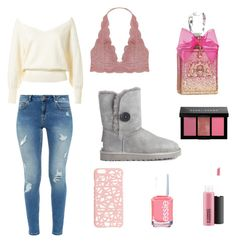 Untitled #8 by mannatarya on Polyvore featuring polyvore, fashion, style, Ted Baker, Humble Chic, UGG Australia, Miss Selfridge, Bobbi Brown Cosmetics, MAC Cosmetics, Juicy Couture, Essie and clothing