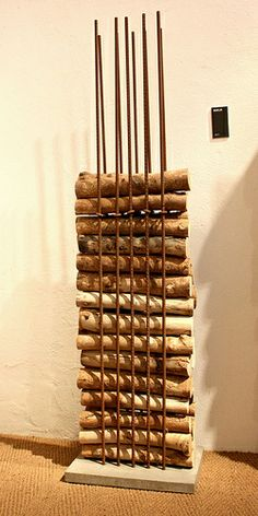 Ak47-Wood-Storage-Rebar-Cement by Inhabitat, via Flickr