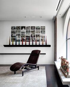 Paredes geométricas por todos os lados - Casa Vogue | Apartamentos