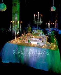 confettata a lume di candela
