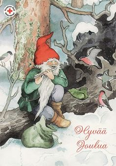 Inge Löök, Christmas card 10 x Finland Scandinavian Art, Scandinavian Christmas, Illustrations, Illustration Art, David The Gnome, Baumgarten, Forest Friends, Christmas Illustration, Children's Literature