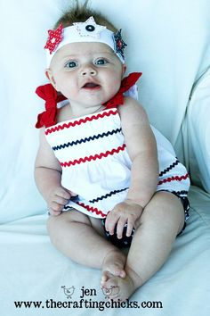 {Fun Ideas to Celebrate the 4th of July} headband