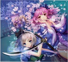 Artist: An2A | Touhou | Chen | Konpaku Youmu | Saigyouji Yuyuko | Yakumo Ran | Yakumo Yukari
