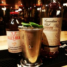 Moscow mule with cc sherry cask