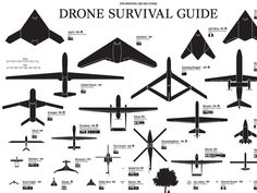 Here's Your Complete Guide To Drones, In One Picture