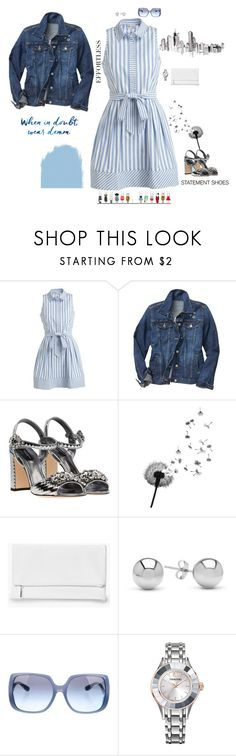 """The Sweetest"" by jenily ❤ liked on Polyvore featuring Milly, Gap, Dolce&Gabbana, Boohoo, Jewelonfire, Miu Miu and Swarovski"