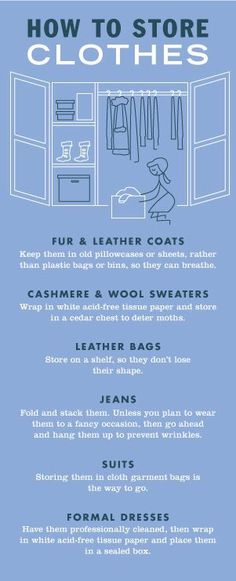 How To Store Clothes✔️