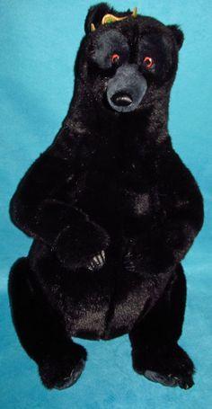 "Disney Store Brave Queen Elinor Eleanor Plush Bear 28"" Merida Mother Mama Large"