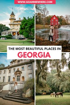 You'll find beauty all over Georgia from cascading waterfalls, majestic live oaks, winding mountain roads, golden marshes, and so much more! Check out these stunningly beautiful places in Georgia you have to visit! #Georgia #exploreGeorgia #visitGeorgia #GA #GeorgiaUSA #USATravel #visittheUSA Beautiful Places To Travel, Best Places To Travel, Cool Places To Visit, World Travel Guide, Travel Tips, Road Trip Europe, United States Travel, Stunningly Beautiful, Travel Destinations