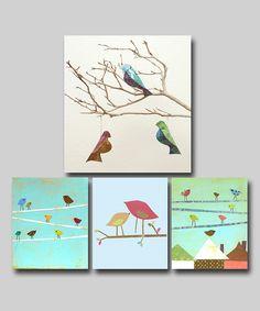 babi idea, little birds, art idea, craft idea, bird bird