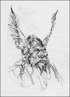 Fantasy Ink: More Roy Krenkel