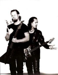 James Hetfield & Kirk Hammet