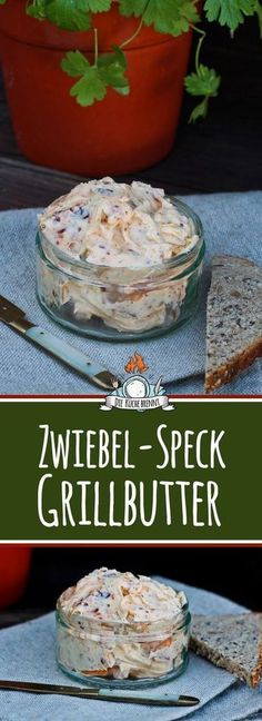 Zwiebel Speck Grillbutter Rezept Onion bacon barbecue butter recipe The post Onion bacon barbecue butter recipe & Essen und Trinken appeared first on Yorgo Angelopoulos. Party Finger Foods, Snacks Für Party, Barbecue Sauce Recipes, Grilling Recipes, Bbq Sauces, Pizza Recipes, Drink Recipes, Grill Party, Bbq Grill
