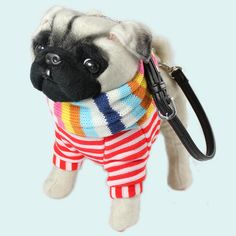 Pug-in-Cruisewear Teapup