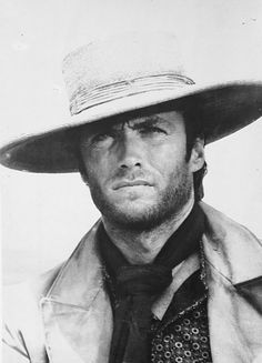 """Vintage promotional photo of Clint Eastwood in """"The Good, The Bad and The Ugly"""" perhaps the Greatest Western ever made Actor Clint Eastwood, Scott Eastwood, Clint Eastwood Quotes, Western Film, Western Movies, Western Style, Hollywood Actor, Old Hollywood, Hollywood Actresses"""