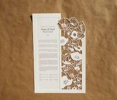 Woodland Papercuts _ Poppy Flowers