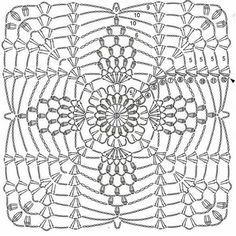 My Crochet Dream Crochet Bedspread Pattern, Crochet Motif Patterns, Crochet Quilt, Granny Square Crochet Pattern, Crochet Tablecloth, Crochet Squares, Crochet Granny, Crochet Designs, Crochet Doilies