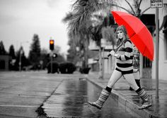 selective color photography - Google Search