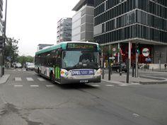 ligne 64 rue de Tolbiac Transport Public, Ligne Bus, Busse, Trains, Parking Lot, France
