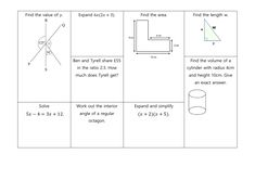 GCSE Non Calculator Revision Mats: Higher and Foundation Tyrell Got, Gcse Revision, Student Work, Grade 1, Calculator, Mathematics, Read More, Teaching Resources, Foundation