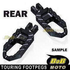 For KTM Duke 125 11 12 13 Black Touring CNC Rear Foot peg