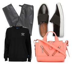 """Untitled #98"" by beautyfashion-andeverthingnice on Polyvore featuring Lafayette 148 New York, adidas Originals and Kenzo"