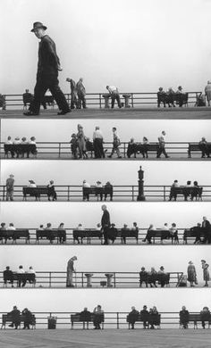Sheet Music Montage, Coney Island, 1950 by HAROLD FEINSTEIN #photomontage #coneyisland #photography