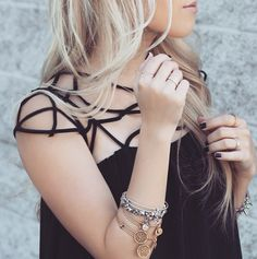 Love this look from blogger Styled By Blondie!