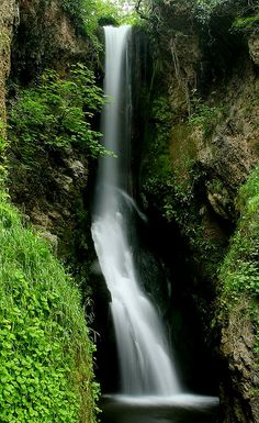 Dyserth Waterfalls, North Wales