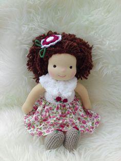 Waldorf doll 14.5 tall doll steiner doll organic by Marydolls