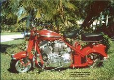 Harley-powered Cushman Eagle