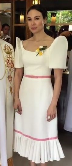 Filipiniana Wedding Theme, Modern Filipiniana Dress, Barong Tagalog, Filipino Fashion, Philippines Culture, Elegant Gown, Dress Up, Bodycon Dress, Gowns Of Elegance