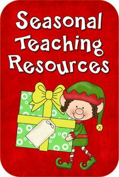 Seasonal Teaching Resources from Laura Candler - This page has recently been updated with freebies and resources for December.