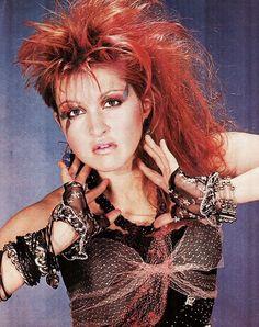 Curvy Women Fashion, 80s Fashion, Grunge Fashion, Music Icon, Pop Music, Halloween Dress Up Games, Cyndi Lauper Costume, Cindy Lauper 80s, Women Of Rock