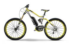 """Vtt électrique Haibike Xduro Nduro PRO 26"""" 400Wh 11V XX1 mix 2014 Scotchbrite/Jaune Mat - Achetez votre vtt électrique Haibike en ligne"""