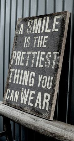 prettiest thing you can wear.