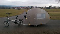 198 best bicycle campers images travel trailers camper. Black Bedroom Furniture Sets. Home Design Ideas