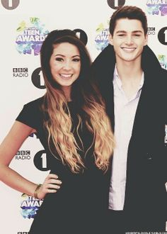 #zoella #ombre #hair #redcarpet #fashion