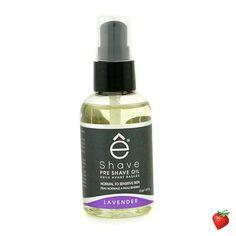 EShave Pre Shave Oil - Lavender 60g/2oz #EShave #MensSkincare #PreShave #FREEShipping #StrawberryNET