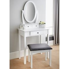 Homesavers | Premium Paris Vanity Set - Adult Bedroom Vanity Set, Bedroom Furniture, Paris, Mirror, House, Home Decor, Bed Furniture, Home, Haus