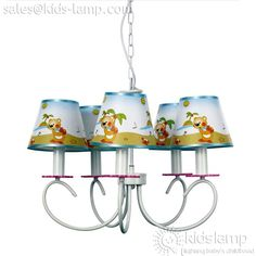 SPECIAL CARTOON KIDS NURSERY DECORATIVE CHANDELIER  sc 1 st  Pinterest : kids pendant lighting - www.canuckmediamonitor.org
