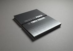 Wordsearch designed this unique brochure  for 20 Times Square.