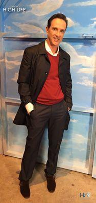 Doctor Pepe Bandera en el programa #SaleElSol con un look #HighLife. #HLAmbassadors Imagen Televisión