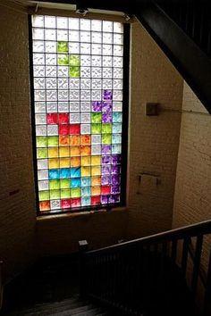 Tetris window - if I had a window like that...