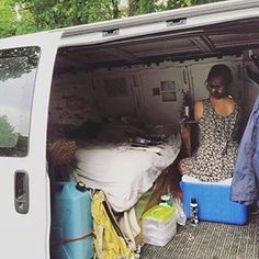 At first glance this may look like any old van that someone is living out of and traveling. But it's so much more! This van, @vancraftedstudio, was a jewelry studio as well as home on the road. #VanCrush Amazing! And check out her IG feed and website. Beautiful, beautiful stuff!  I'm interested to know who else's is out there living and working from their van, truck, RV, bus or whatever. ~  For more van life pics check out https://www.instagram.com/van.crush/