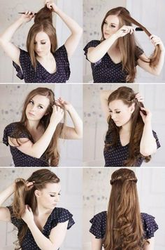 5 steps for the perfect hair. What do you think Ladies?